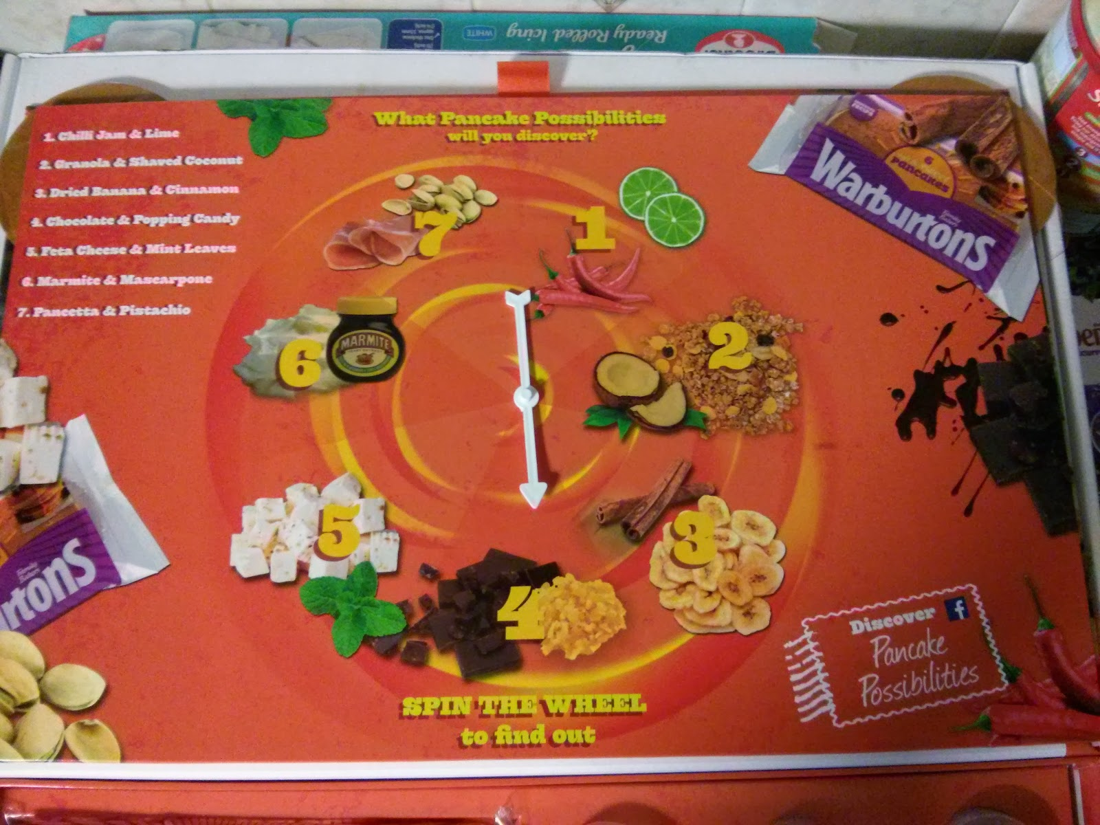 Warburtons Magic Pancake Box