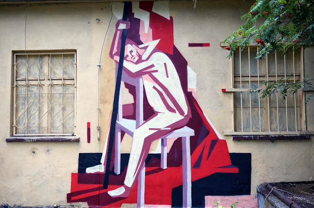 Several New Pieces From Polish Street Artist Jacyndol on the streets of Miechucino & Gdynia, Poland. 4