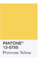 Source: Pantone. Primrose yellow.
