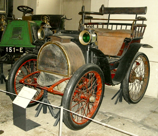 Renault Type A - museum - left