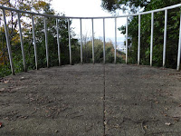 獅子窟寺 展望台
