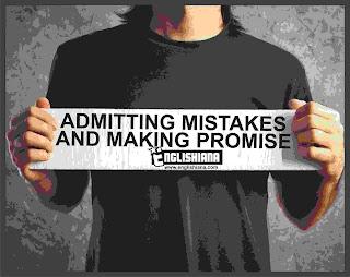 Contoh Percakapan Bahasa Inggris 2 Orang, 3 Orang, dan 4 Orang Tentang Admitting Mistakes and Making Promises dan Artinya