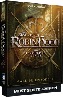 DVD Review: The Adventures of Robin Hood: The Complete Series