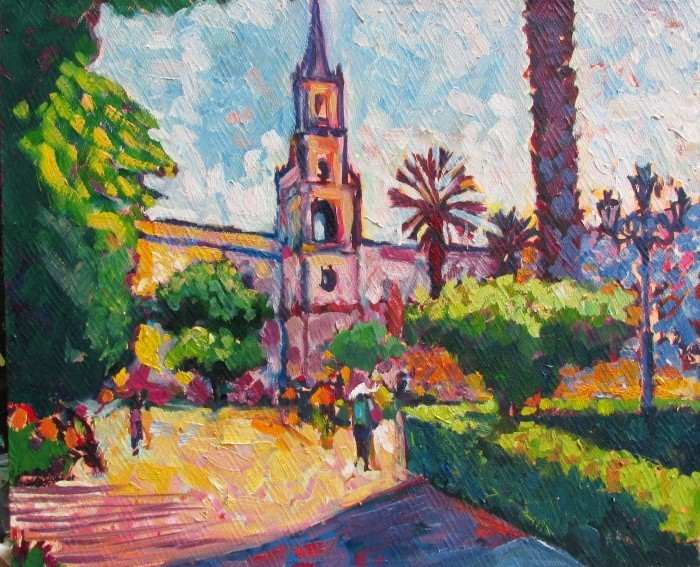 Перуанский художник. Edmundo Pita
