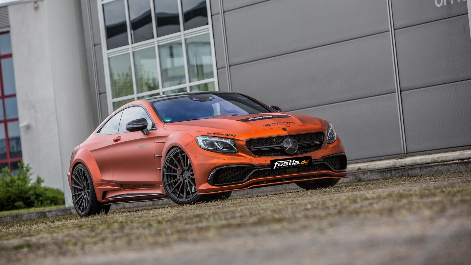 Fostla Goes All Out With Prior Design Mercedes Amg S63