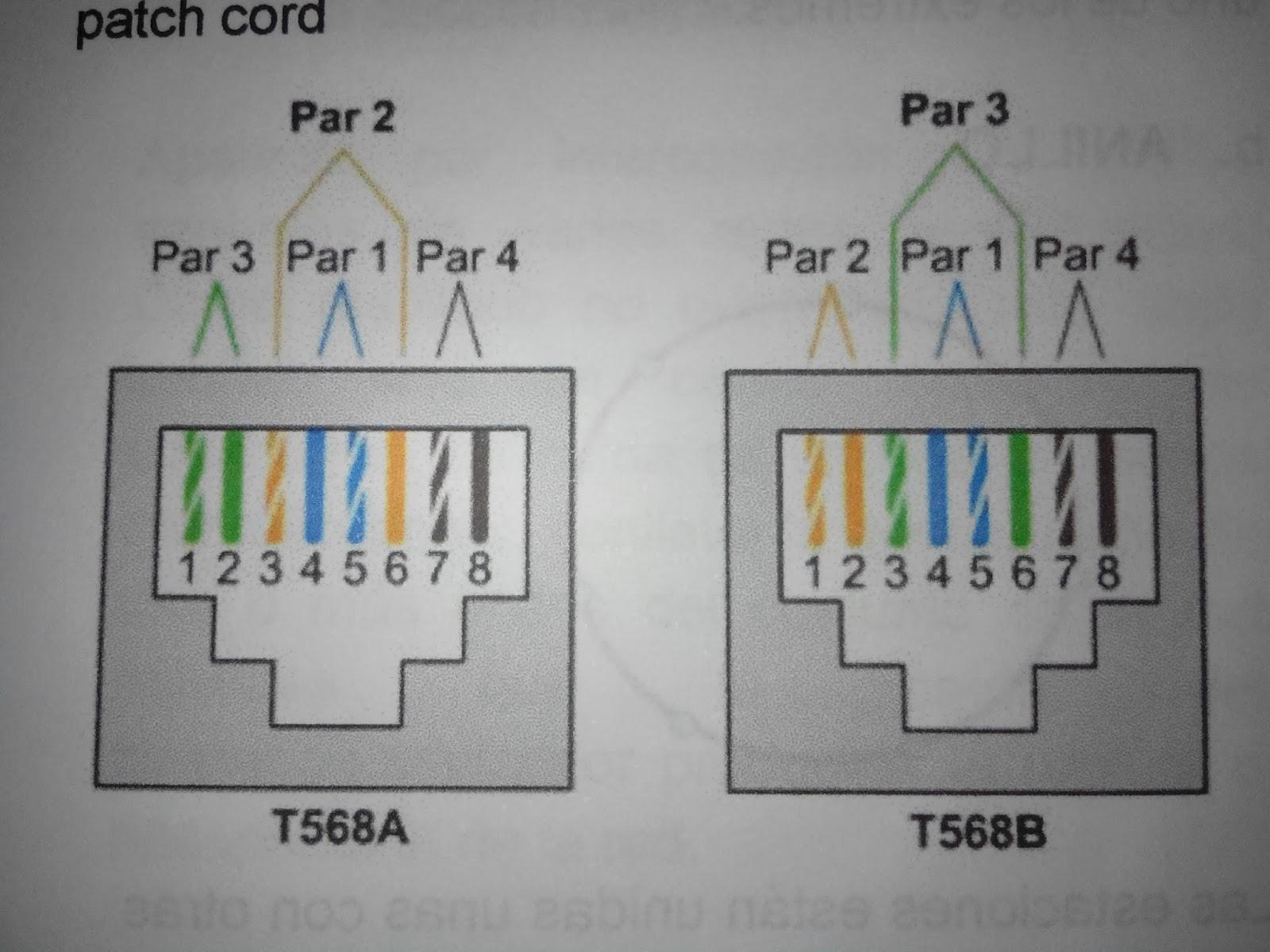 medium resolution of 3 despu s insertar de forma correcta los 8 cables en el terminal rj45 se procede a ponchar el cable de red