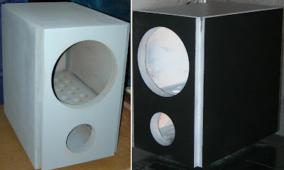 Merancang Box Subwoofer 10 Inchi