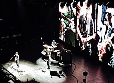 Escenario en el concierto de John Mayer en el O2 Arena de Londres
