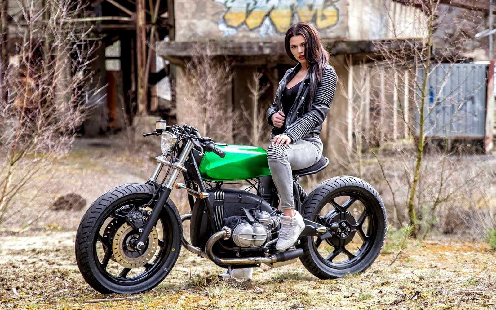 Melissandra And The R80 Inazuma Caf 233 Racer
