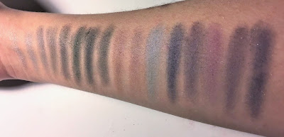 e.l.f. 32 Piece Eyeshadow Palette swatches