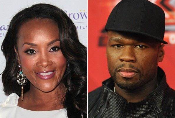 50 cent dating vivica