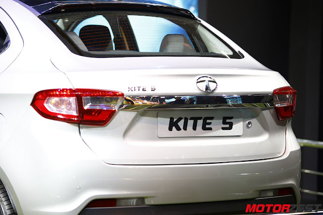 Tata Motors compact sedan Kite 5 at Delhi Auto Expo 2016