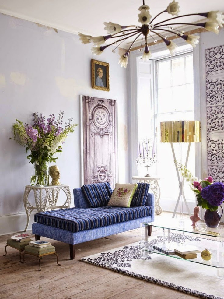 Eye For Design Decorating With The Chaise Lounge