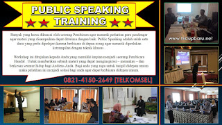 Sertifikasi Public Speaking Training Indonesia