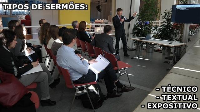 Esboço de Sermão técnico, textual e expositivo