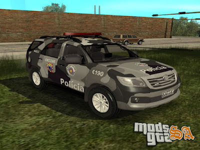 Toyota Hilux SW4 GATE para GTA San Andreas