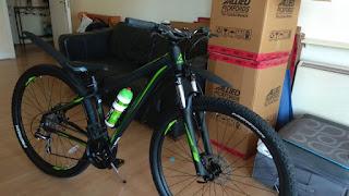 Stolen Bicycle - Merida Big 920