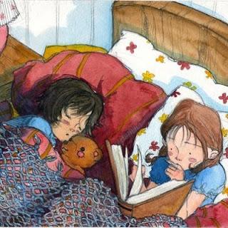 Ler ao dormir diminui o stress da criança