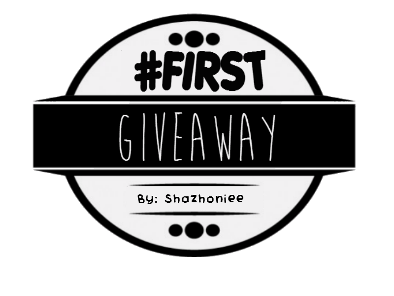#First Giveaway by Shazhoniee