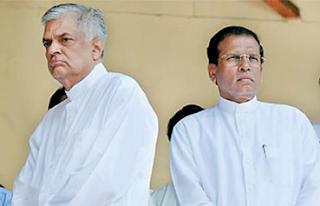 President Maithripala Sirisena - Prime Minister Ranil Wickremesinghe