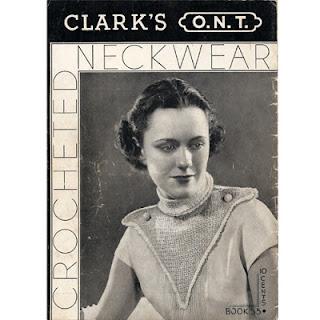 Spool Cotton Book No 55, Crocheted Accessories