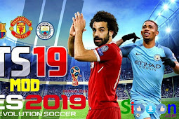 Free Download Game First Touch Soccer 19 (FTS 2019) for Android Mod Graphics
