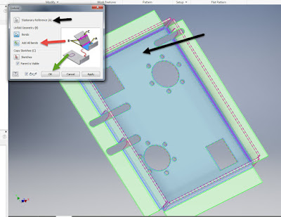 Putting toolpaths on a sheetmetal part in Inventor
