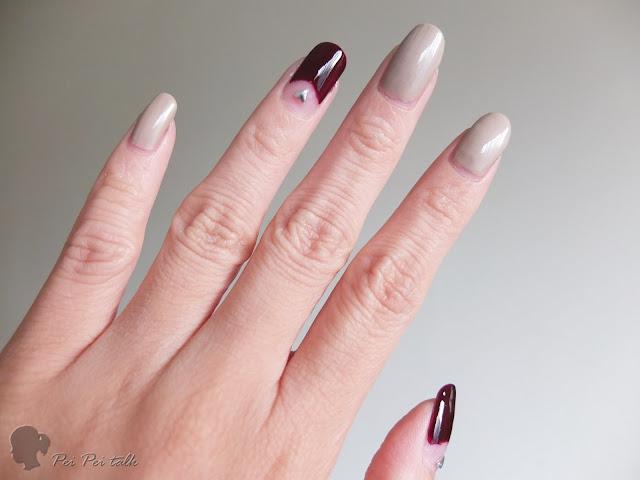 UNT指甲油-指甲彩-KA015+KA030-試色
