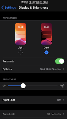How to toggle Instagram's new Dark Mode on your iPhone or Android Settings - DE JAY'S BLOG