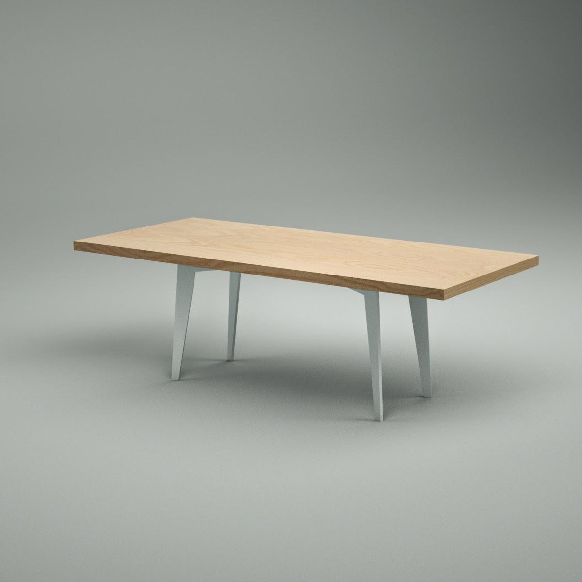 Tango Table 3D Model Download fbx obj dxf blend