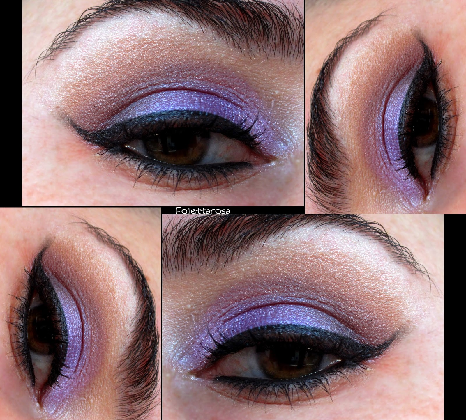 make up occhi viola