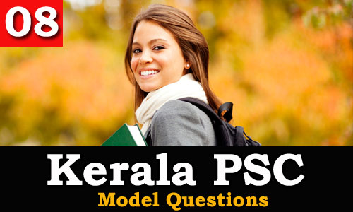 Kerala PSC - Model Questions English - 08