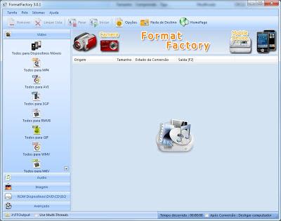 converter arquivos imagens videos