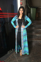 Megha Akash in a beautiful Anarkali dress with Long Jacket at LIE success meet ~  Exclusive Celebrities Galleries 026.JPG