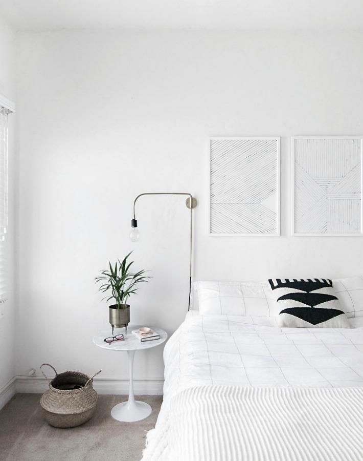 Decoraci n f cil como crear un dormitorio escandinavo minimalista - Cabecero estilo escandinavo ...