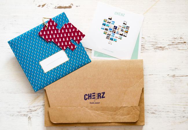 foto cheerz pacco regalo