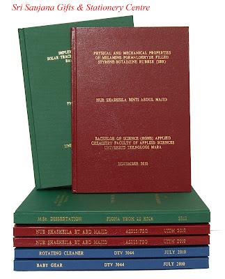 thesis hardcover binding penang