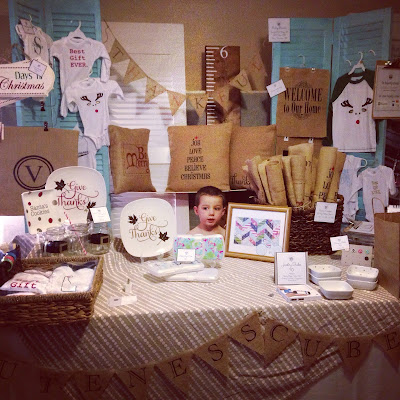 Craft show, details, booth, set up