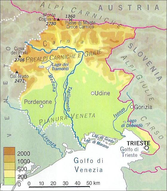 Cartina Fisica Del Friuli Venezia Giulia.Chi Viaggia Impara Immagini Dal Mondo Italia Friuli Venezia Giulia