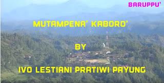Lirik Lagu Toraja Mutampena' Kaboro' (Ivo Lestiani Pratiwi Payung)