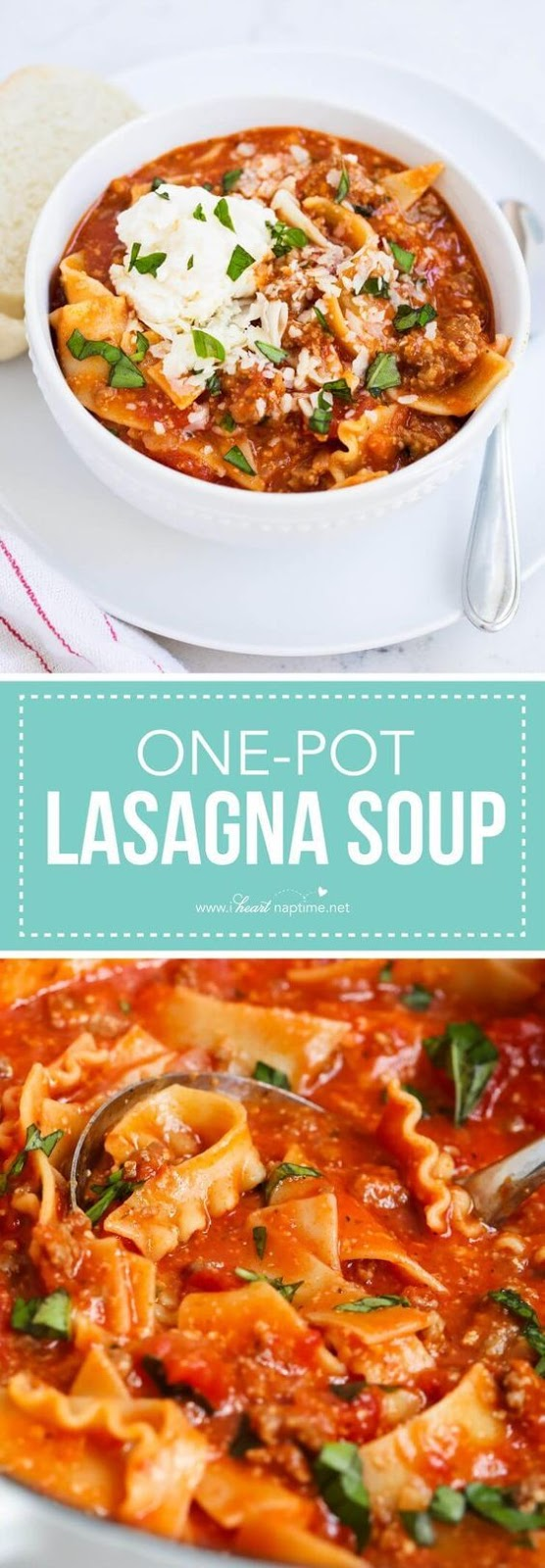 Easy Lasagna Soup  #easy #lasagna #soup