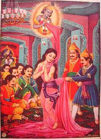 draupadi cheerharan story mahabharata,Draupadi Cheerharan