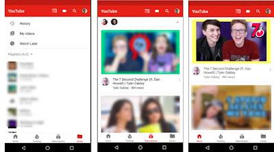 تحديث اليوتيوب الجديد : طريقه تفعيل الشكل الجديد لليوتيوب للاندرويد و ios