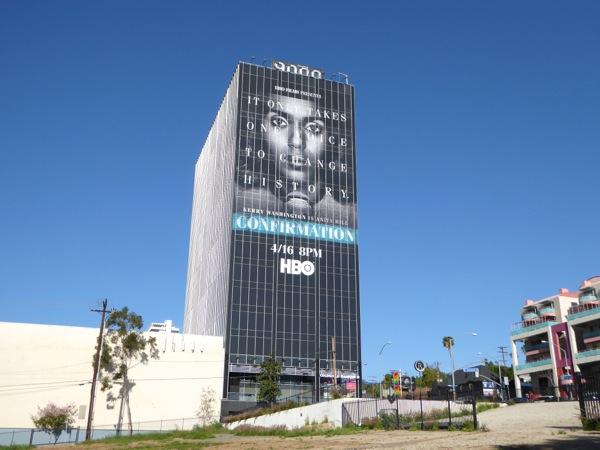 Giant Confirmation movie billboard