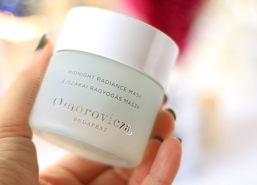Omorovicza Midnight Radiance Mask review