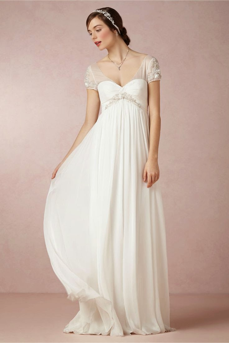 Age Old Youngster: Affordable Wedding Dresses: Regency