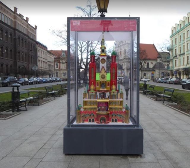 presepe tradizionale di Cracovia in Plac Jana Matejki