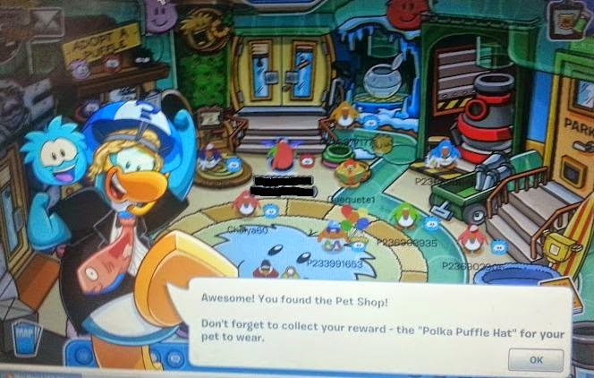 Club Penguin game and magazine review - pet shop