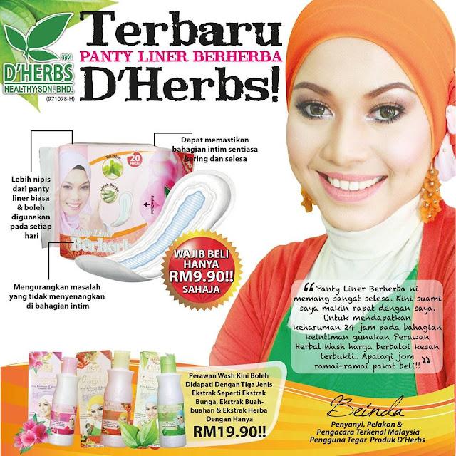 Panty Liner Berherba D'Herbs