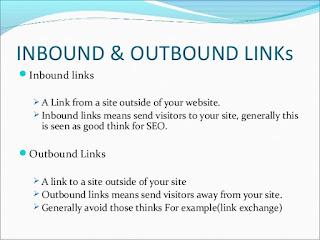 Penjelasan tentang link Outbound dan Inbound